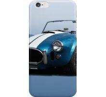 1966 Shelby Cobra 427 'Blue on Blue' iPhone Case/Skin