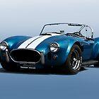 1966 Shelby Cobra 427 'Blue on Blue' by DaveKoontz