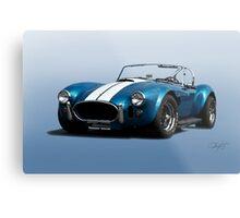 1966 Shelby Cobra 427 'Blue on Blue' Metal Print