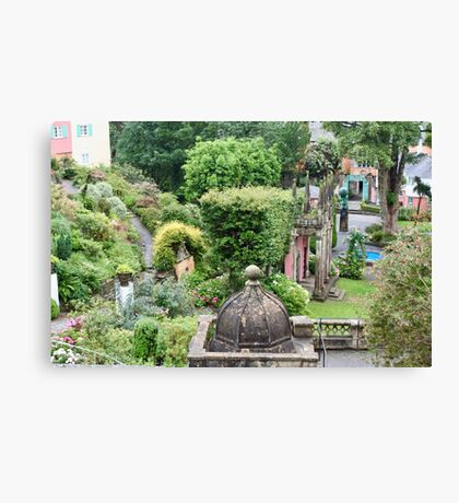 UK - Wales - Portmeirion - Home of the Village in 2007 Canvas Print