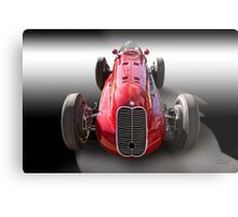 1939 Maserati 8CTF Race Car I Metal Print