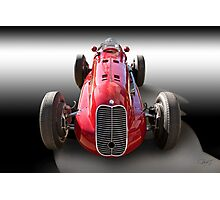 1939 Maserati 8CTF Race Car I Photographic Print