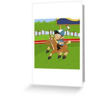 Non Olympic Sports: Polo Greeting Card