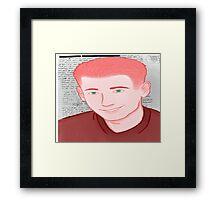 Eric Harris Portrait Framed Print