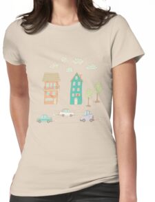 Childs street Womens Fitted T-Shirt