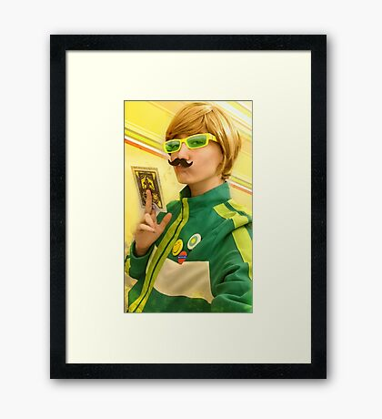 Advent Calendar Cosplay - 11|12 Chie Framed Print