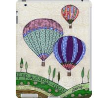 """Up, Up & Away""  iPad Case/Skin"