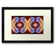 All Eyes On Eternity Abstract Living Artwork Framed Print