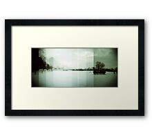A certain slant of light Framed Print