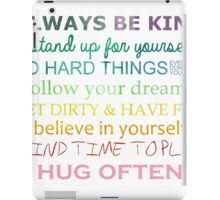 Always Be Kind iPad Case/Skin