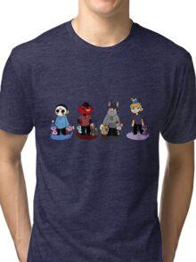 Pokemon companions!  Tri-blend T-Shirt