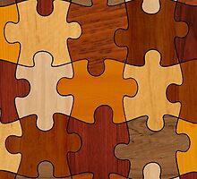 Puzzle Wood by wokesac