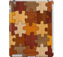 Puzzle Wood iPad Case/Skin
