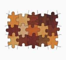 Puzzle Wood Kids Clothes