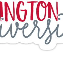 Washington State University Sticker
