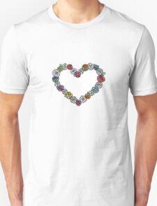 Empty Tie Dye Daisies Unisex T-Shirt