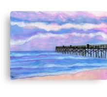 Flagler Beach Pier' Canvas Print