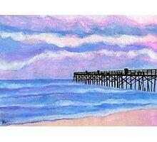 Flagler Beach Pier' Photographic Print