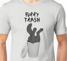 Furry Trash - Black/Melanistic Wolf Unisex T-Shirt
