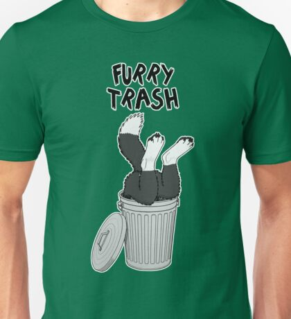 Furry Trash - Border Collie Unisex T-Shirt