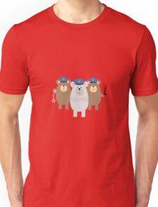 Bears Police Officer Squad Unisex T-Shirt