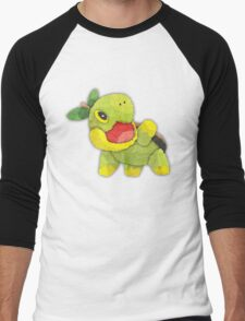 pokemon - turtwig Men's Baseball ¾ T-Shirt