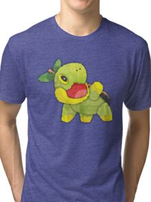 pokemon - turtwig Tri-blend T-Shirt