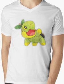 pokemon - turtwig Mens V-Neck T-Shirt