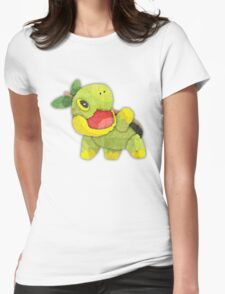pokemon - turtwig Womens Fitted T-Shirt