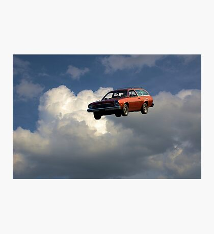 Blues Brothers Flying Pinto Recreation  Photographic Print