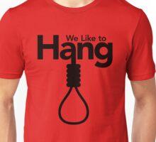 Mafia Town: We Like To Hang w/ Noose Unisex T-Shirt