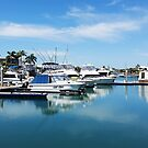 Raby Bay Marina by Keith G. Hawley