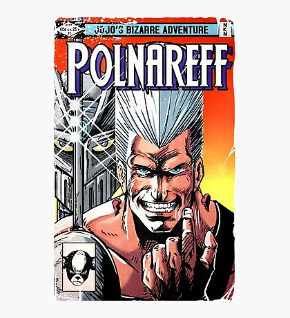 Polnareff Wolverine homage Photographic Print