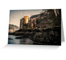 Dartmouth Castle Greeting Card