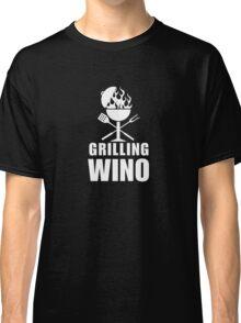 Grilling Wino - White Classic T-Shirt