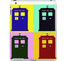 TARDIS Pop Art iPad Case/Skin