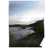 Thingvellir landscape Poster