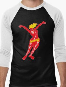 Heartbone - neon Men's Baseball ¾ T-Shirt