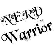 NERD WARRIOR Photographic Print