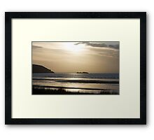 The Old Pier, Weston Framed Print