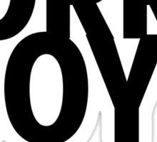 Sorry boys - Lesbian claim Sticker