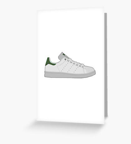 Adidas Stan Smith  Greeting Card