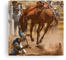 Biting the Dust Canvas Print
