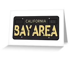 Bay Area California Old School Greeting Card