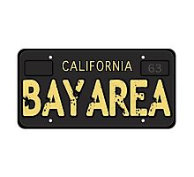 Bay Area California Old School Photographic Print