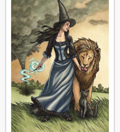 Everyday Witch Tarot - Strength Sticker