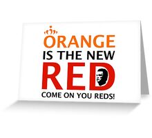 Orange is the New Red (English) Greeting Card