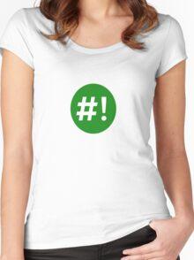 Shebang II Women's Fitted Scoop T-Shirt