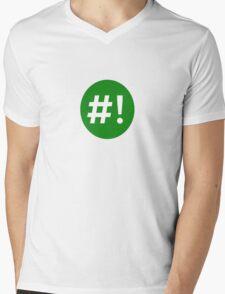 Shebang II Mens V-Neck T-Shirt