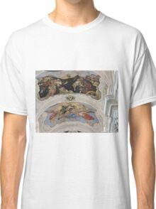 St Thomas the Apostle church, Prague, Czech Republic, frescoes Classic T-Shirt